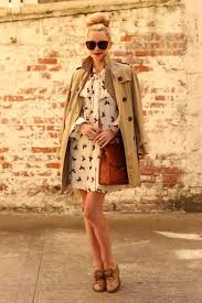 wardrobe essentials how to wear a trench coat dress 3