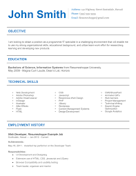 Effective Resume The John Resume 100 Simple But Effective Resume 4