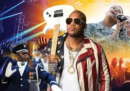 USA Salute THE <b>MUSIC EXPLOSION</b>