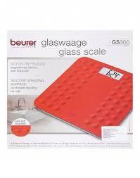 Отзывы о <b>Весы напольные электронные GS</b> 300, Beurer, красные