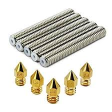 OCR M6x40mm Barrel <b>Stainless Steel Nozzle</b> Throat and <b>5pcs</b> 0.4 ...