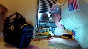 Gas Wall Heater Installation Hvac Williams Wall Furnace Easy Call Youtube