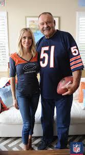 He's Kristin A With Championships Football Dick Butkus Linebacker Bears Fans Nfl Tougher On Legendary The Experience Field Butkus Lot