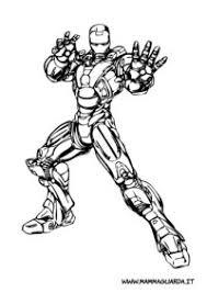 11 Iron Man Immagini Da Colorare Disegni Da Colorare