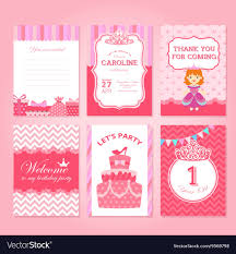 Party Rsvp Template Princess Birthday Party Invitation Template