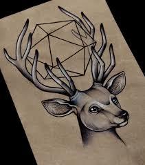 татуировки олень эскиз значение татуировок олень татуировка эскиз