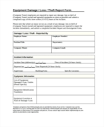 Memo Report Sample Damage Report Templates For Insurance Claim Template New