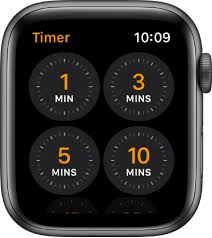 Set Timer 1 Minutes Set A Timer On Apple Watch Apple Support