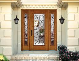 wood grain fiberglass decorative entryways fiberglass door