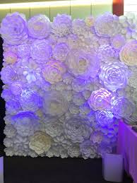 Paper Flower Wall Rental Paper Flower Wall Backdrop Party Wedding Event For Sale In