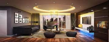 Đèn led trang trí phòng khách trong đời sống - Vật tư led giá rẻ