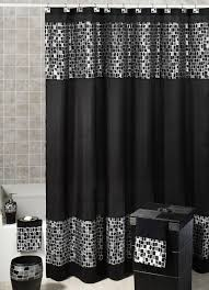 Black shower curtains Black Art Gorgeous Black Shower Curtain Design Ideas For Simply Awesome Look Ideas Homes Gorgeous Black Shower Curtain Design Ideas For Simply Awesome Look