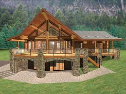 log home kit cabin mountain ridge house plans with basement feet square foot ranch floor walkout small free open concept apartment plan under cool houses