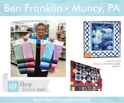 76 best Shop Shout Out! images on Pinterest | Out to, Bays and ... & A warm hello to Ben Franklin Quilt Shop in Muncy, PA! Adamdwight.com