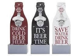wall mounted bottle opener 3 colours