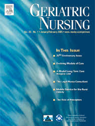 Geriatric Nursing Geriatric Nursing Journal Wikipedia