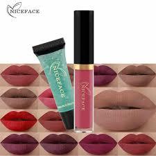 <b>Hot</b> 12 Colors Gloss <b>Lip</b> Glaze Sample <b>Matte</b> Long Lasting Non stick ...