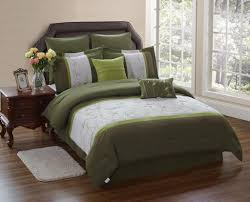 green bedding sets