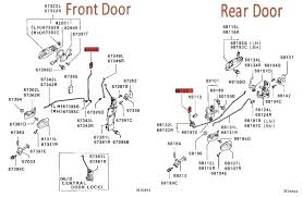 parts of a door car door locks mechanism car parts door lock grey 2 3