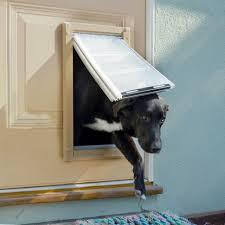 endura flap aluminum polyolefin double flap pet door for doors