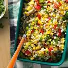 barley  bell pepper   corn salad