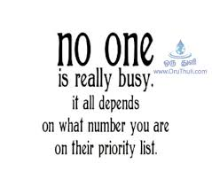 No One Is Really Busy In Their Life OruThuli Quotes Simple English Quotes