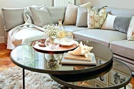 silver coffee table tray