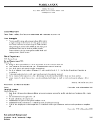 tier customer service association resume example general  mark a s