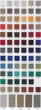 Marine Products Sunbrella Color Samples Shipshape