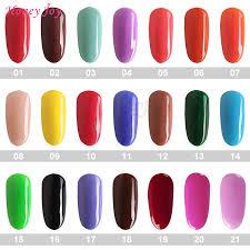 Nail Color Chart Us 3 99 20 Off Very Fine 18g Box Color Chart 1 121 Colorful Dipping Powder No Lamp Cure Nails Dip Powder Gel Nail Salon Effect Natural Dry In Nail