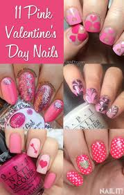 95 best Valentine's Day Nails images on Pinterest | Valentine day ...