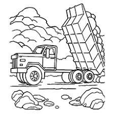 Top 10 Dump Truck Kleurplaten Voor Uw Peuters Momjunccom