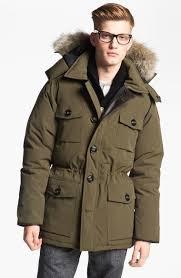 ... Canada Goose Banff Slim Fit Parka With Genuine Coyote Fur Trim ...