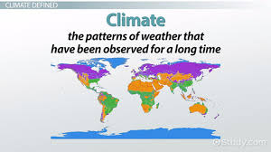 Weather Vs Climate Chart Temperature Ranges By Seasons And Climates