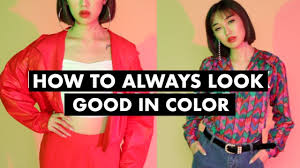 how to always look good primary colors