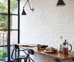 brick accent wall house home