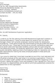 aviation mechanic cover letter examples maintenance engineer cover letter