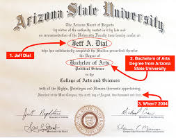 degree here is a photo of jeff s asu diploma in its frame go devils