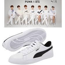 Bts Puma Shoes Size Chart Bts Official Goods Puma X Bts Court Star Shoes Photo