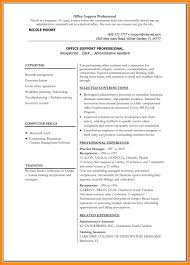 6 Sample Resume Ms Word Azzurra Castle Grenada