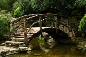 backyard bridges garden bridge
