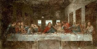 the last supper pre leonardo da vinci oil painting