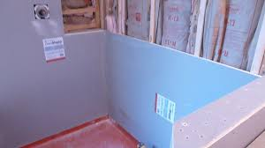how to install shower surround tile backer board durock or cement board part 1 you