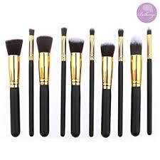 bellangé makeup brush set 10 pieces kabuki brushes best makeup brushes including foundation