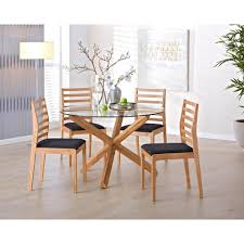 Essgruppe Saskia/Pelle (4 Stühle) - Dänisches Bettenlager