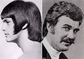 Romantic Mens Hairstyle From The 1960s1970s