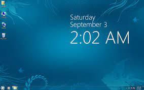 Clock Wallpaper for Windows 8 ...