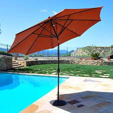 maximum shade deluxe aluminum auto tilt patio umbrella com