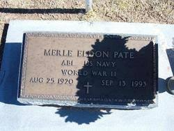 Merle Eldon Pate (1920-1993) - Find A Grave Memorial