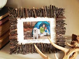 3 diy twig picture frame